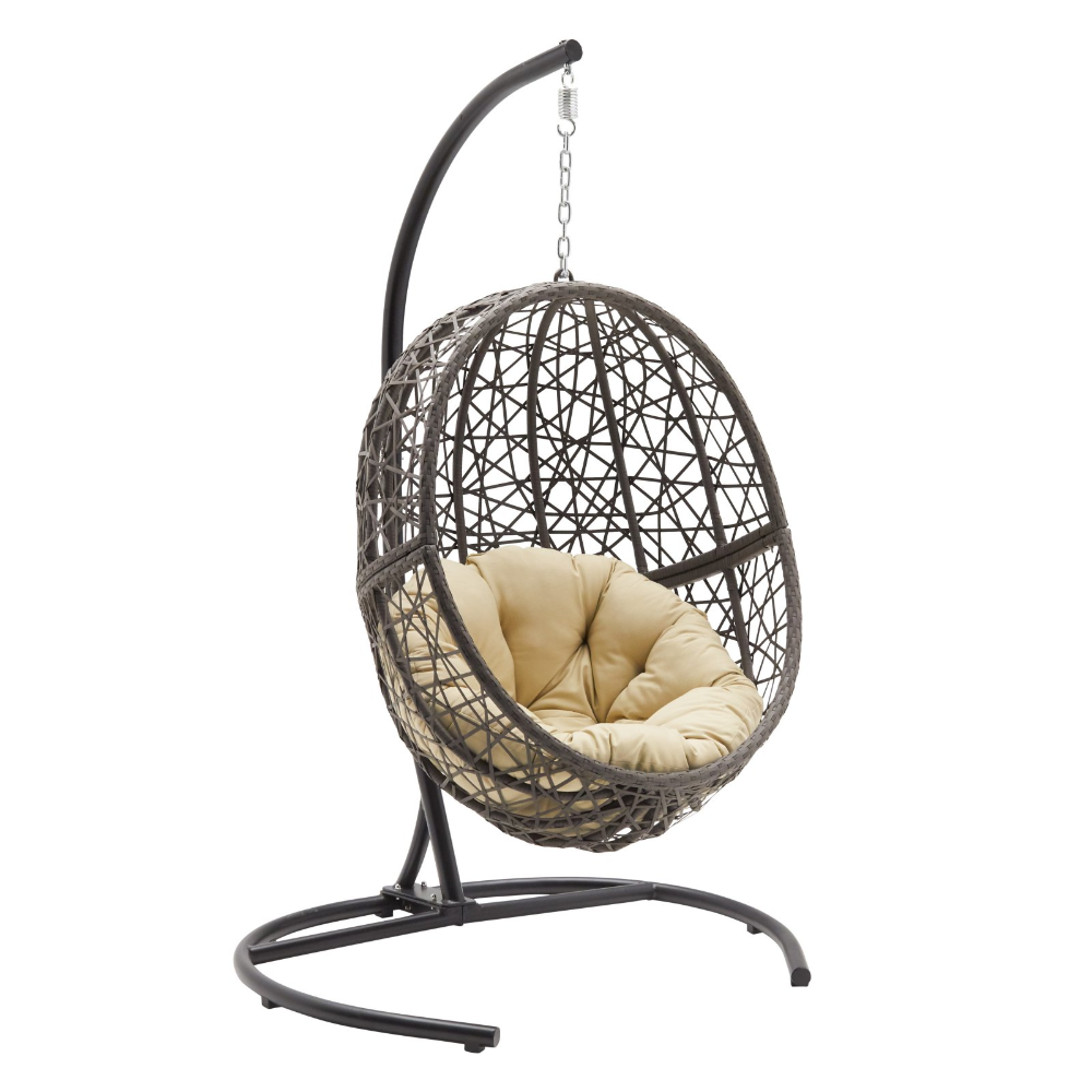 Patio & Garden (With images) Hanging egg chair, Swinging