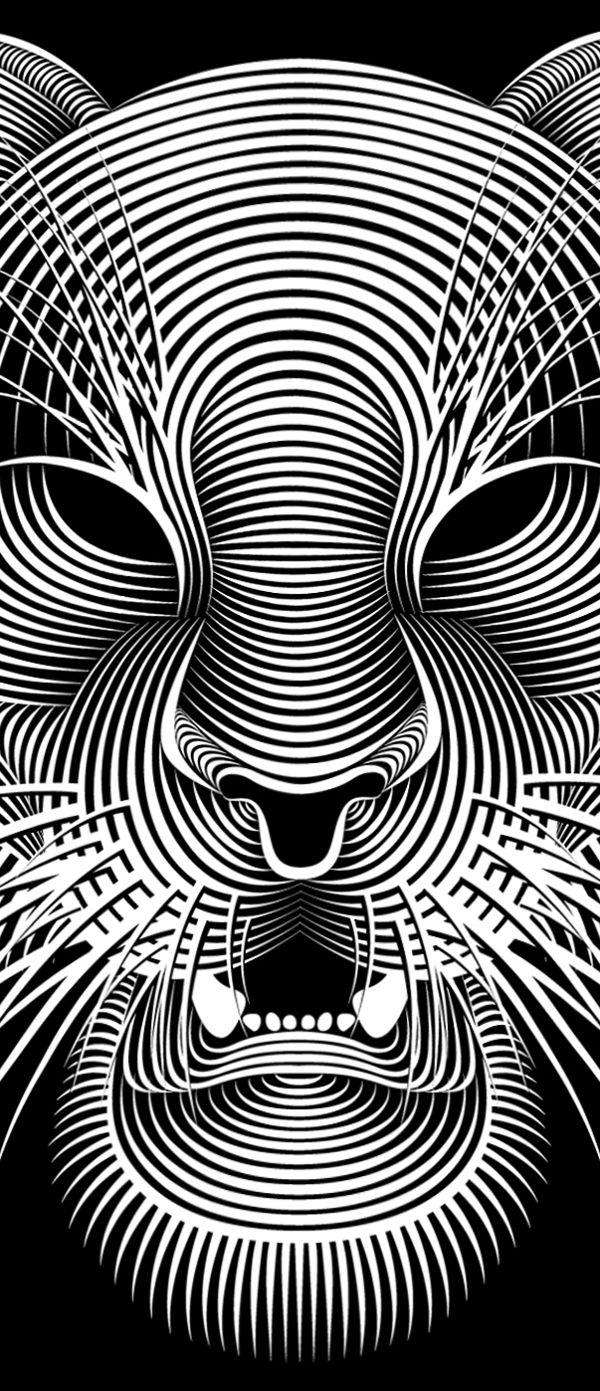 2012 By Patrick Seymour Via Behance トリックアート アート 画
