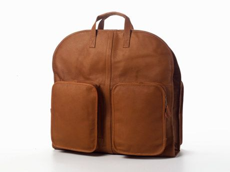 Clava Leather One-Night Suiter Bag