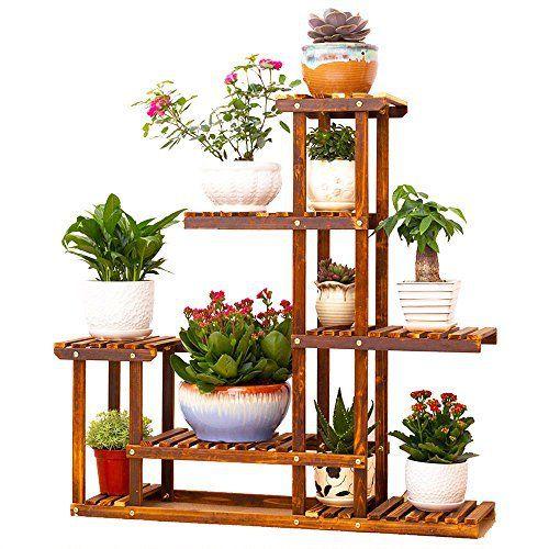 malayas 3pcs tag re de fleur jardini re pot de fleur. Black Bedroom Furniture Sets. Home Design Ideas
