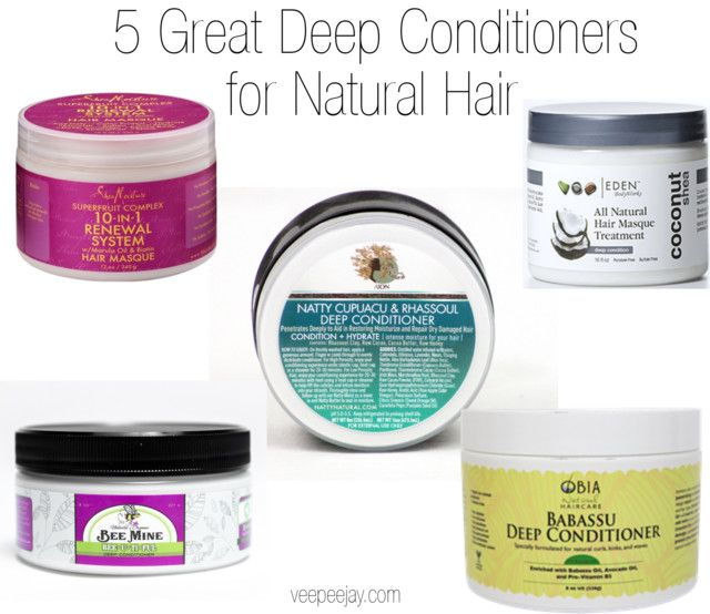Best Deep Conditioners For Natural Hair Black Hair