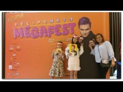 FELIPE NETO MEGAFEST SANTOS TOP AMEIII