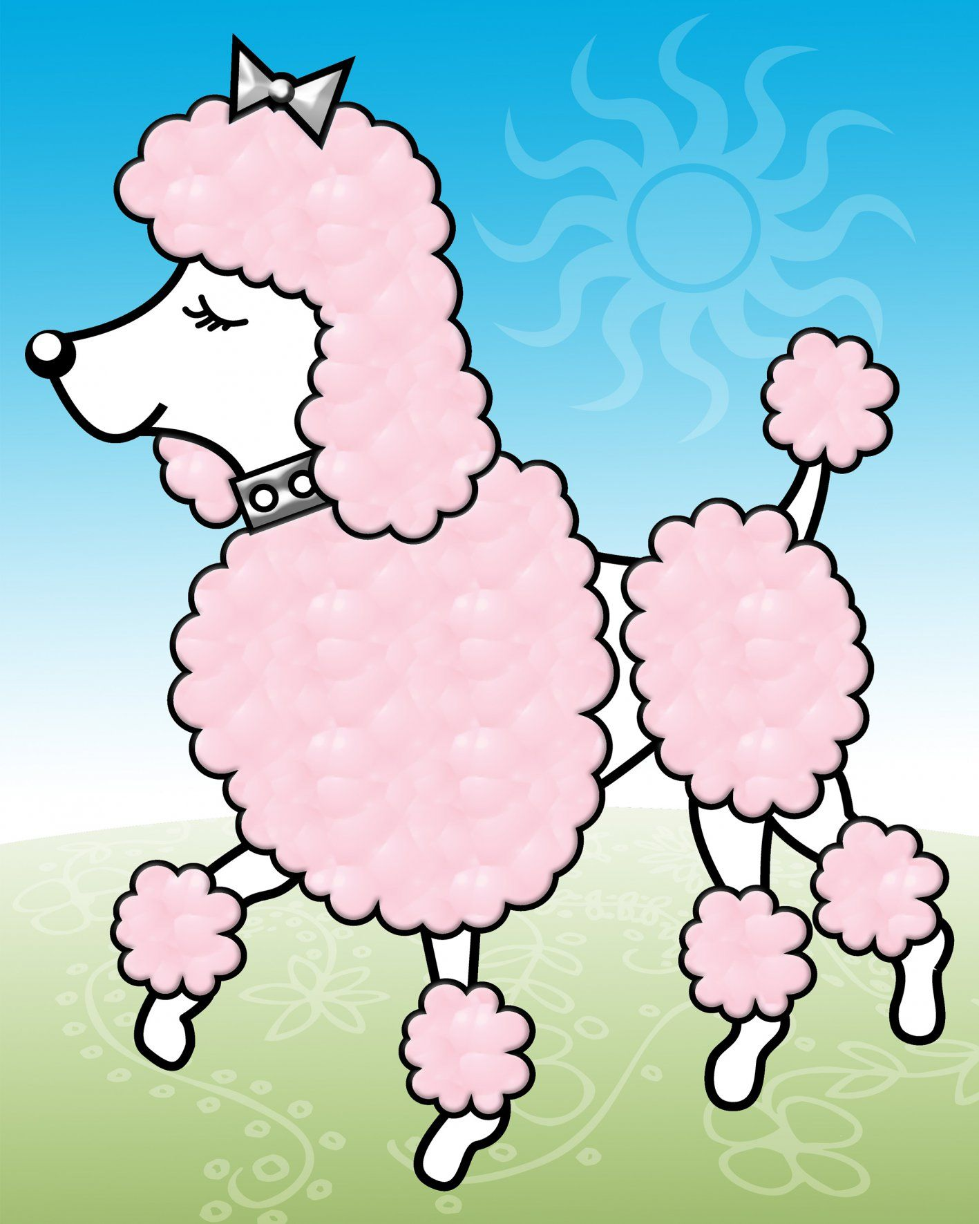 Free Cartoon Poodles Yahoo Image Search Results Poodle Drawing
