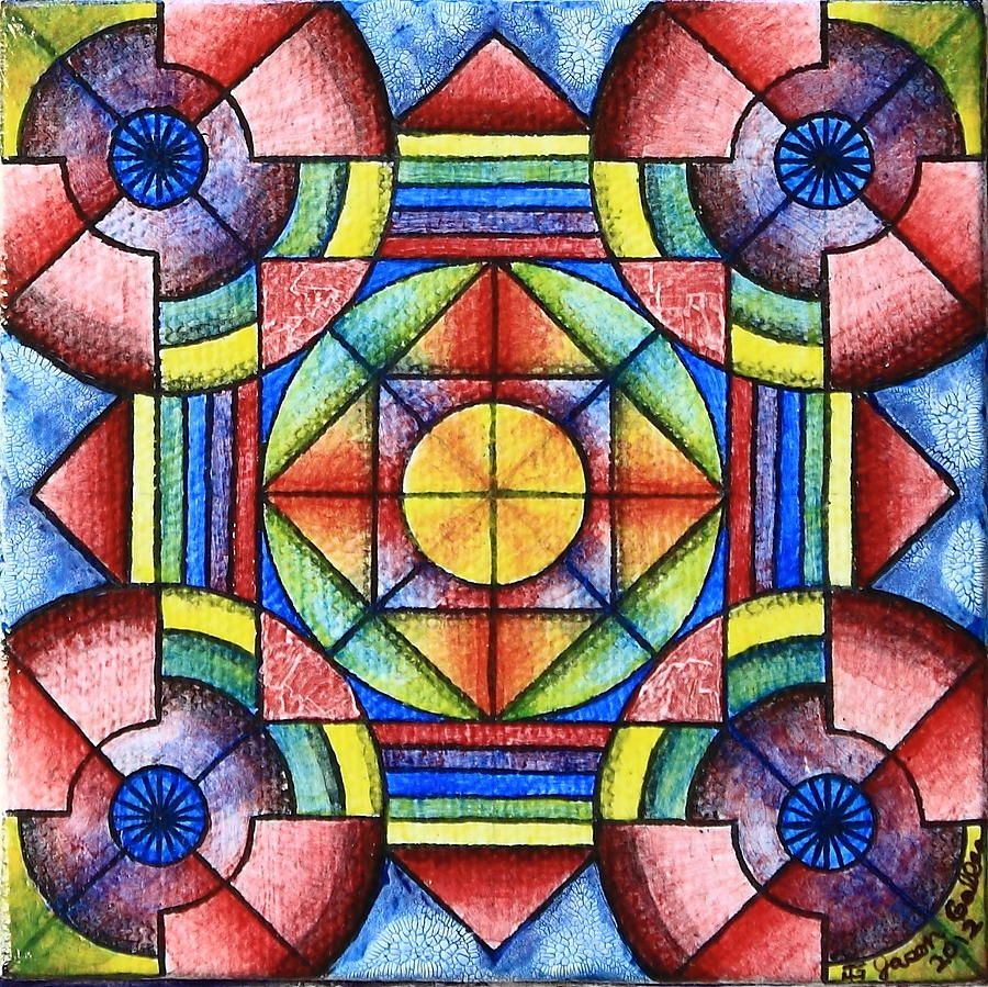 Geometric Symmetry 2 By Jason Galles Geometric Shapes Art Balance Art Principles Of Art Balance