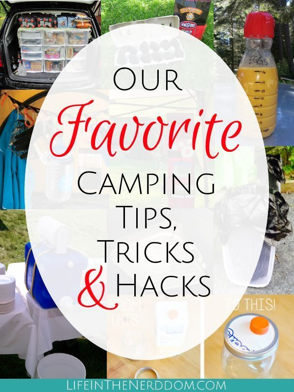 Photo of Our Favorite Camping Tips, Tricks & Hacks – Life in the Nerddom