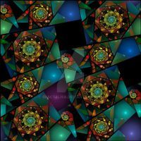 Stained Glass by Fractalisa