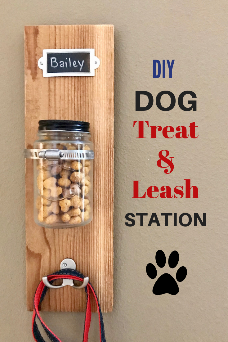 Photo of DIY Dog Treat & Leash Station with Milk-Bone #ad