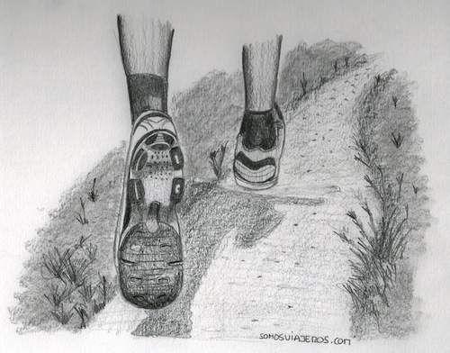 Dibujo Zapatillas Running My Drawings Pinterest Drawings My
