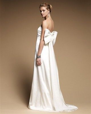 """251e050b34 White House Black Market """"Alexandra""""Dresses under  500!! Love this one with  the bow on the back!"""