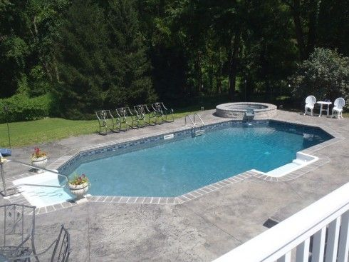 Cornerstone Natural Grey With Images Vinyl Pool