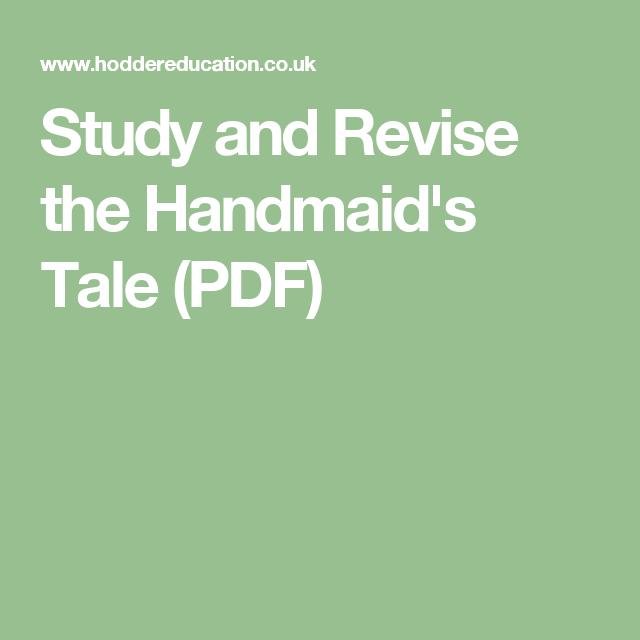 The Handmaids Tale Pdf