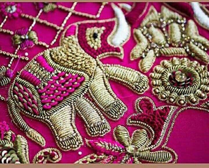 Pin de Rajalakshmi en radha   Pinterest   Bordado