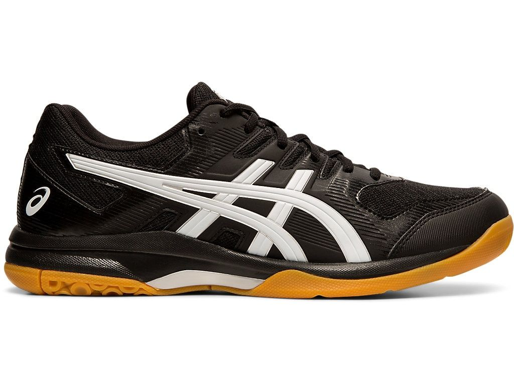 Men S Gel Rocket 9 Black White Volleyball Asics In 2020 Volleyball Shoes Sneakers Men Fashion Indoor Shoe
