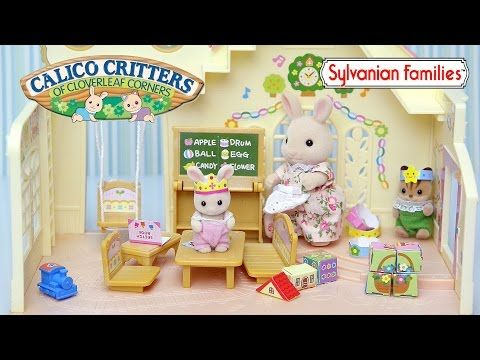 Sylvanian Families Calico Critters Baby Room Nursery Set Unboxing Review Play Kids Toys Youtube Nursery Set Sylvanian Families