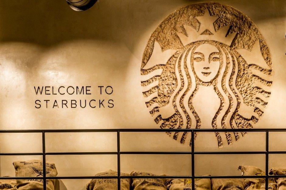 Starbucks Downtown Disney Orlando - Our Siren Logo chiseled into the ...