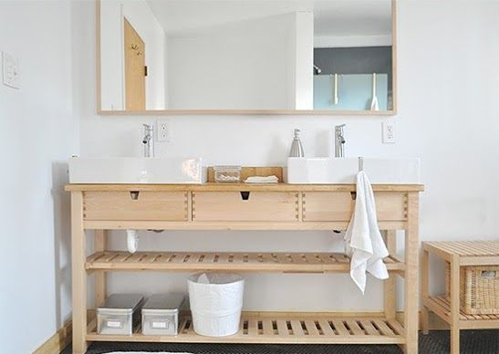 Ikea Norden Sink Hack Ikea Hack Bathroom Ikea Sinks Bathroom Hacks