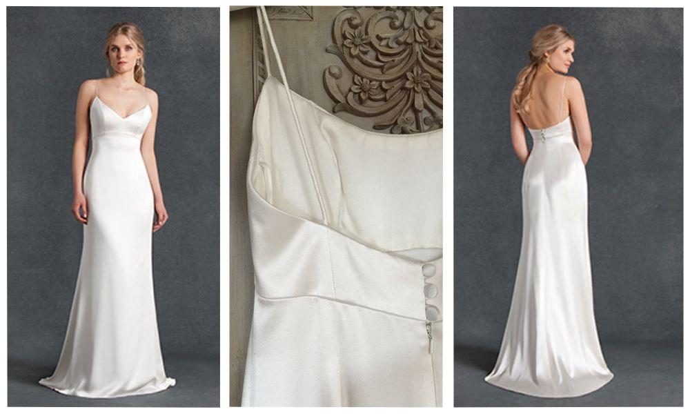 Emma Hunt \'Claudi\' £1495 #designer #emmahunt #claudi #weddingdress ...