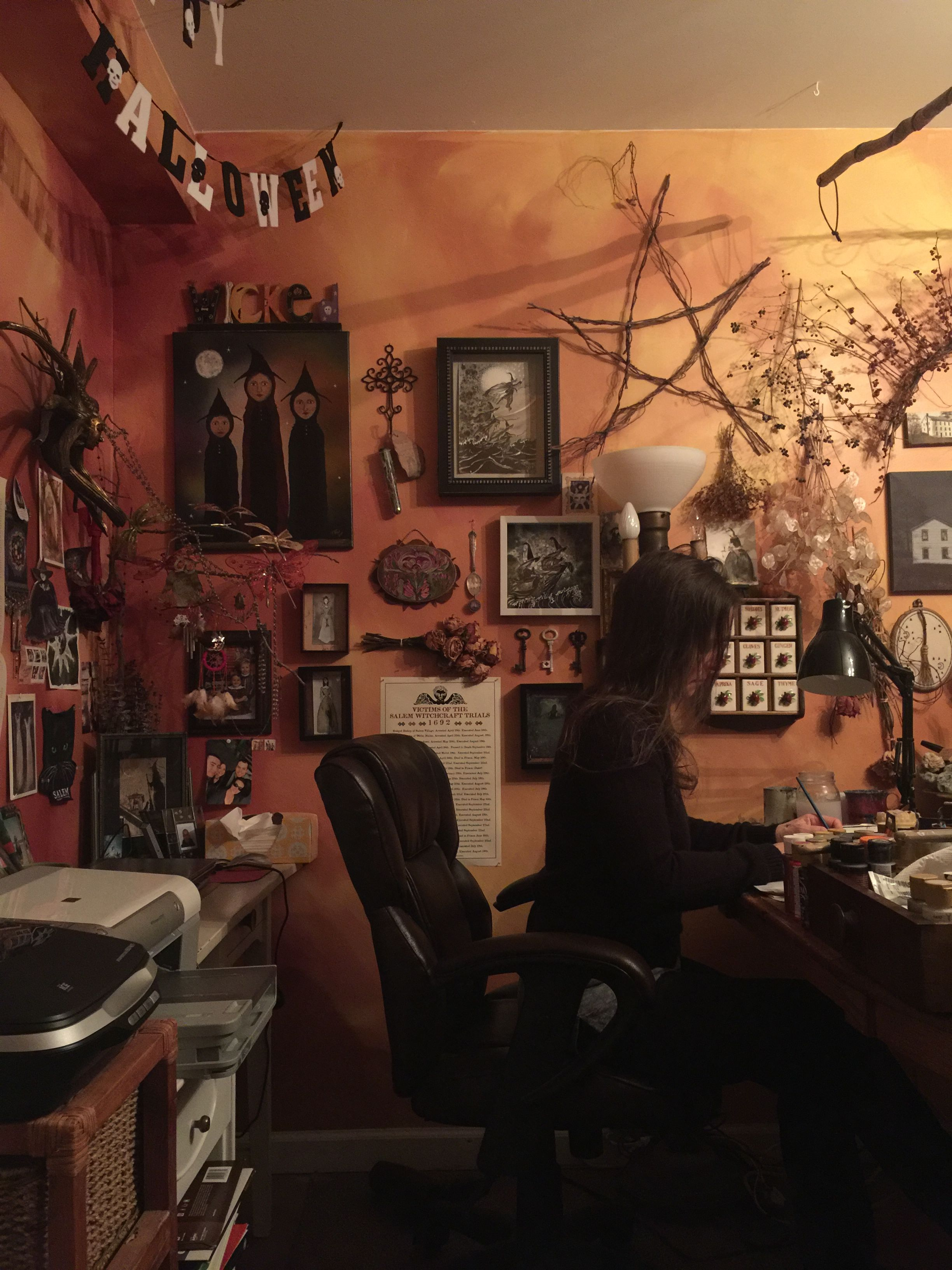 Fabulous Witch Room Decor Anopheles Org Download Free Architecture Designs Rallybritishbridgeorg