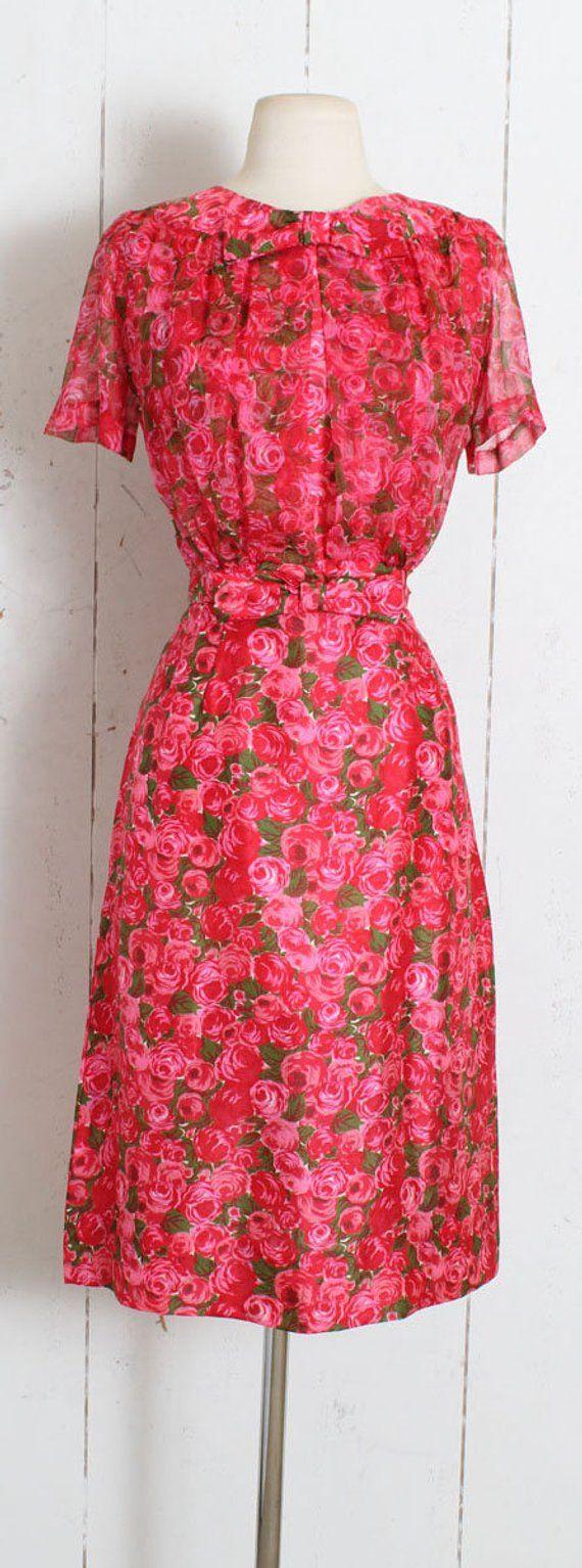 114e82b39c1 Vintage 1950s Dress