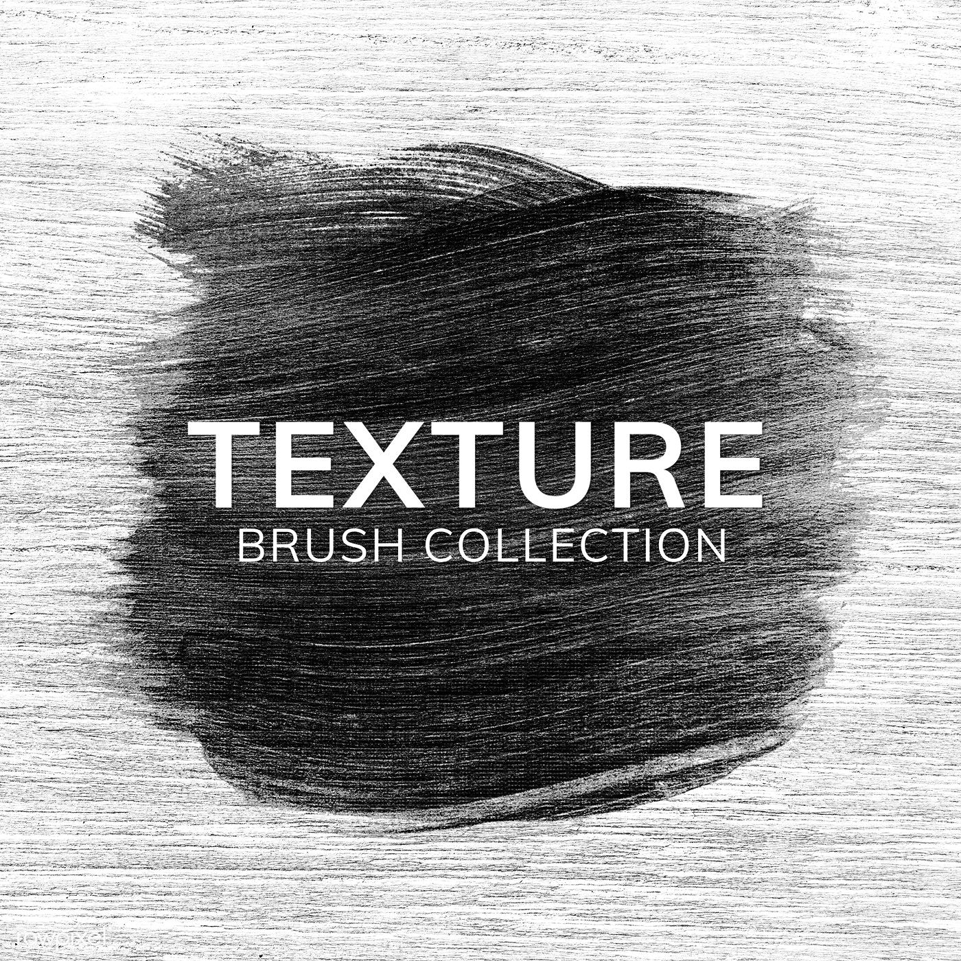 Download Premium Psd Of Black Oil Paint Brush Stroke Texture On A