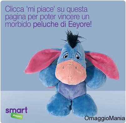 Concorso Smart Shoppers Italia: vinci uno dei 50 peluche Eeyore - http://www.omaggiomania.com/concorsi-a-premi/concorso-smart-shoppers-italia-vinci-dei-50-peluche-eeyore/