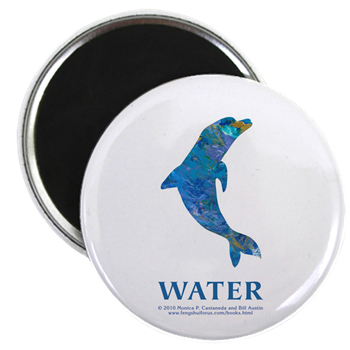 Water Element Dolphin Magnet