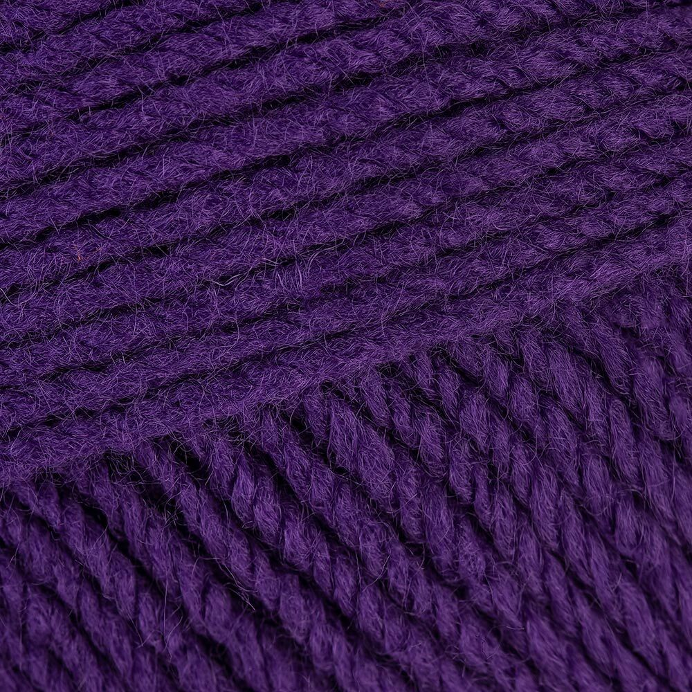 Schachenmayr Bravo - Violett (08303) - Schachenmayr Bravo is a fantastic easycare yarn - easy to knit, easy to wear, a brilliant every day choice for any DK pattern! In a fabulous range of shades, Bravo knits on US 2.5 (3mm) - US 6 (4mm) needles, so will suit DK and some 4ply patterns. Perfect for anyone with wool sensitivity.. SKU: 9801211-08303.