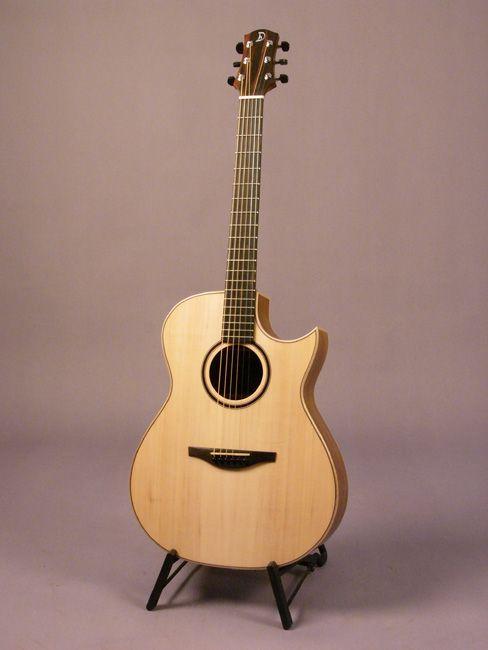 Beautiful hand built Steelstring Guitars by Heiner Dreizehnter.