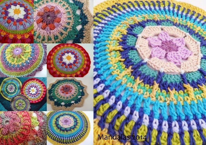 Mandala and cushion patterns | Crochet Boards | Pinterest
