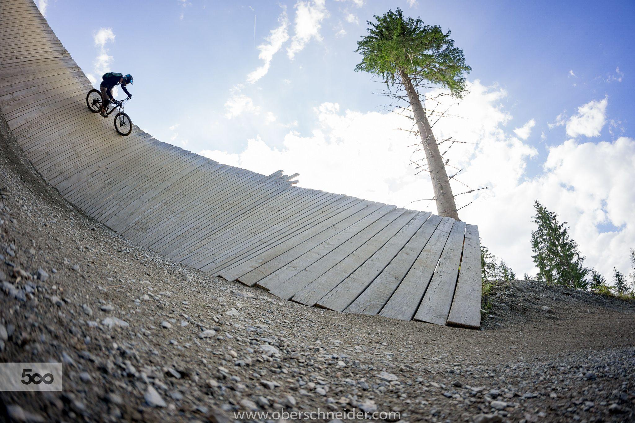 Bikepark freeride mountainbiking by christoph