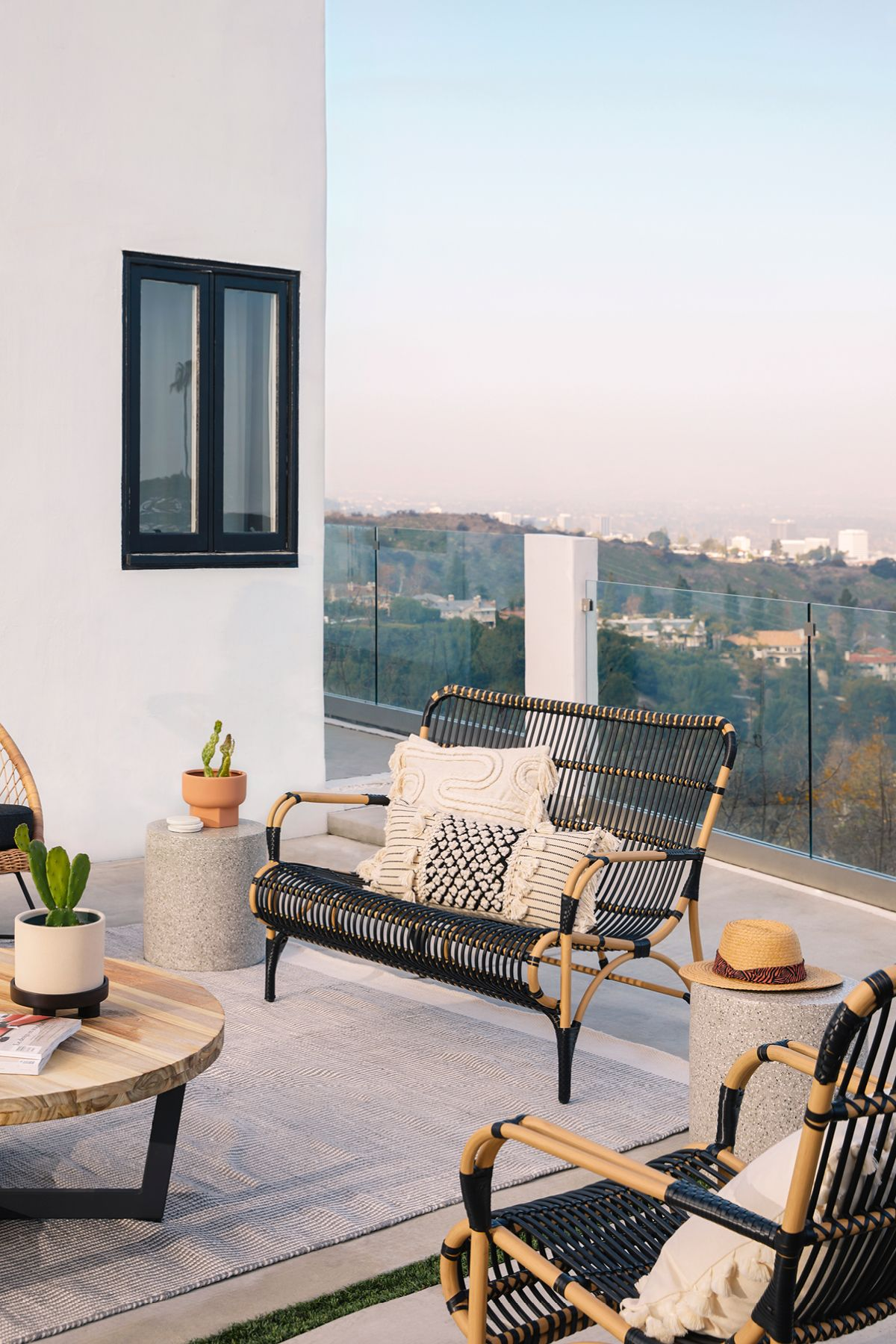 Trella Natural/ Black Sofa in 2020 Outdoor sofa, Diy