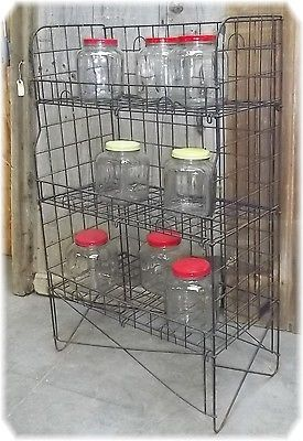 Country Store Wire Potato Chip Candy Cookie Rack Display