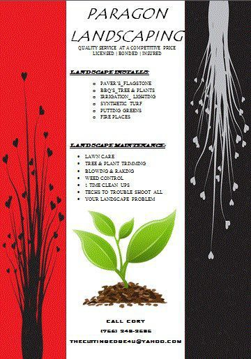 Landscaping flyer templates word Landscaping flyer templates - free landscape flyer templates
