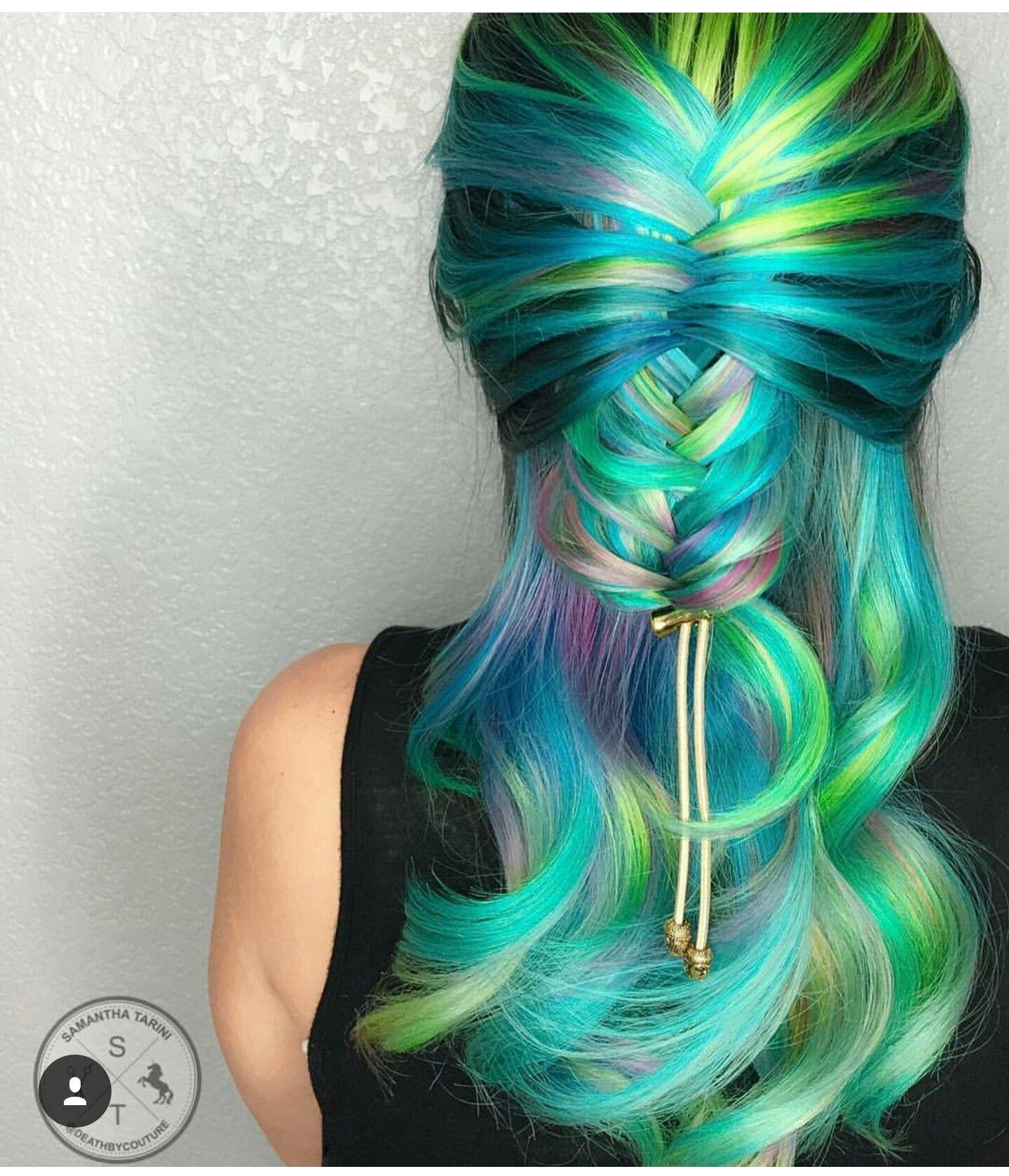 Pin by dusty lock on unicorn mermaid hair eva pinterest mermaid