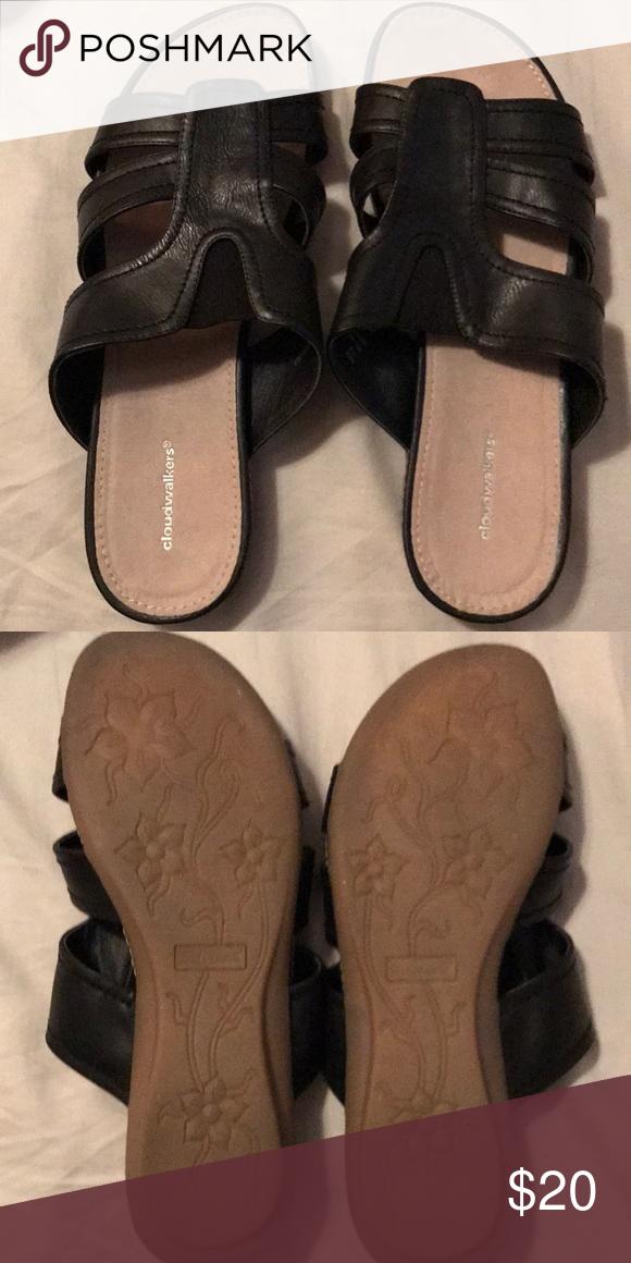 Cloud walkers sandals women's size 12 W