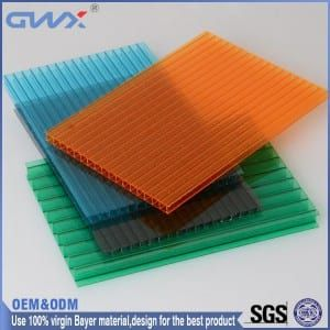 Www Chinagwxpc Com 10mm Polycarbonate Sheet Greenhouse Panel Swimming Poor Cover Construction Material Polycarbona Greenhouse Panels Roofing Roofing Sheets
