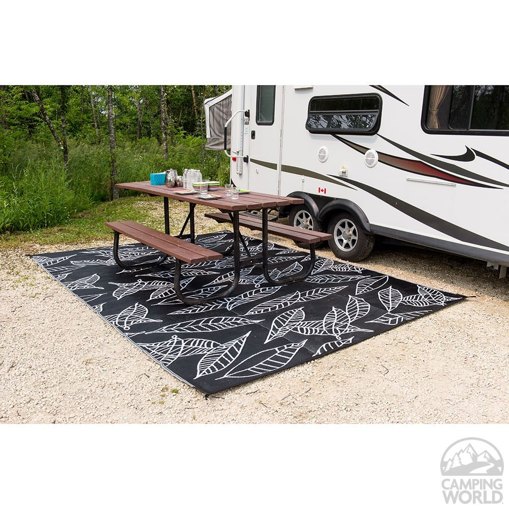 Designer Rv Patio Camping Mat 8 Ft X 20 Ft With Free Carrying Case Camping Mat Camping Rug Rv Camping
