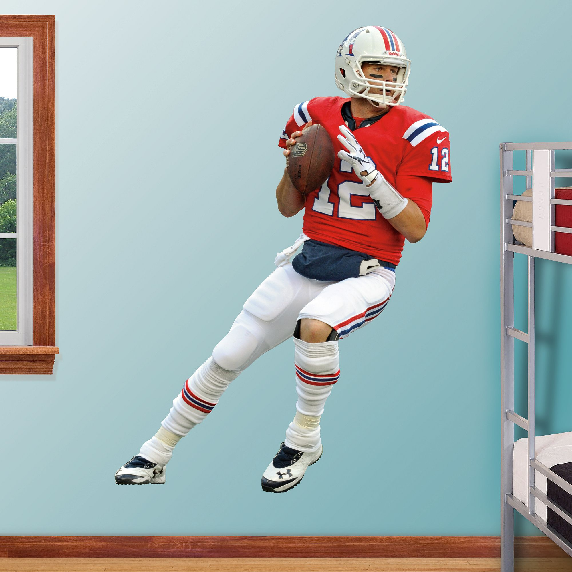 Fathead Wall Decal | New England Patriots Wall Decal  sc 1 st  Pinterest : new england patriots wall decals - www.pureclipart.com