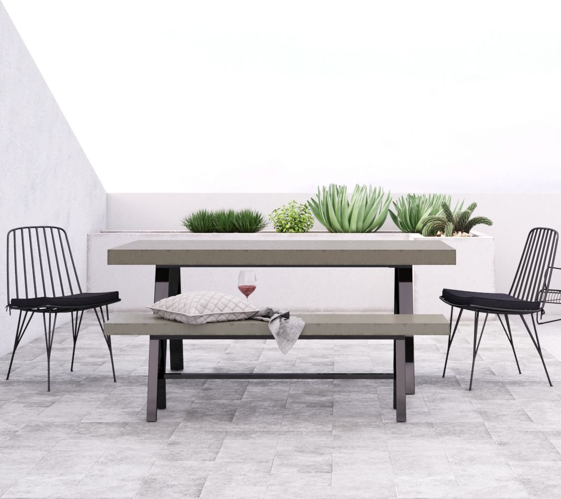 Our smeaton large outdoor dining table makes big gatherings a breeze for alfresco dining bbqs