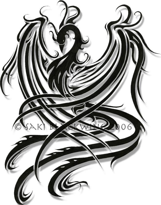 Fenix 659 837 tattos pinterest f nix for Fenix tribal tattoo