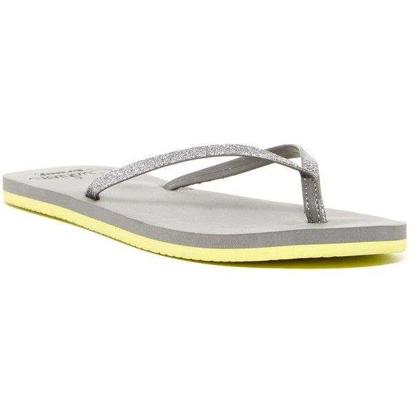 a5ceee71c61954 Reef Cushion Glitz Flip Flop ( 20) ❤ liked on Polyvore featuring shoes