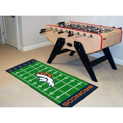 65c2a6f9 FANMATS NFL - Denver Broncos Football Field Runner | Products ...
