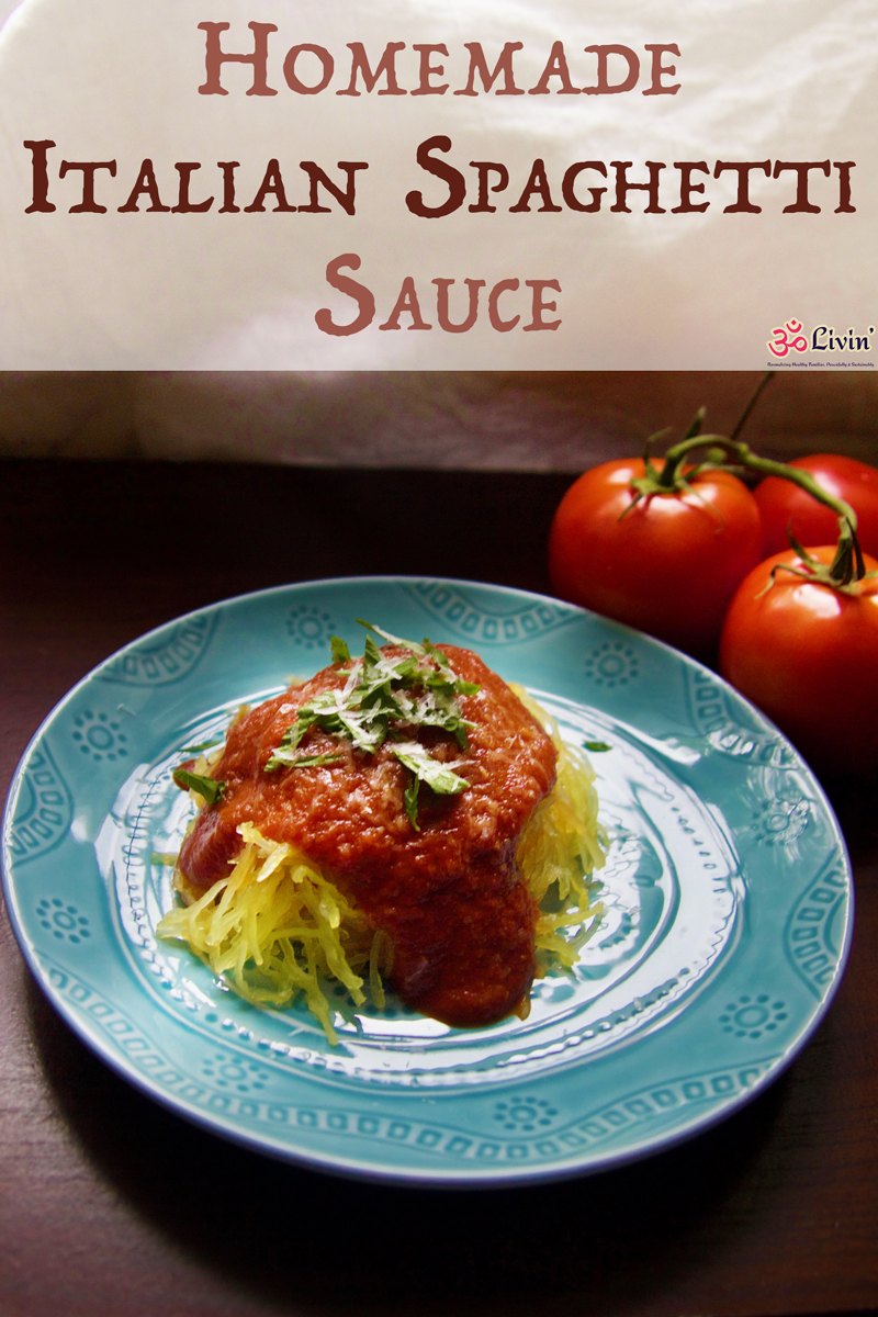 Forget jarred spaghetti sauce. This homemade sauce has no added sugar and is vegan and gluten free. Once you try it you will be hooked and won't ever go back. Homemade Italian Spaghetti Sacue