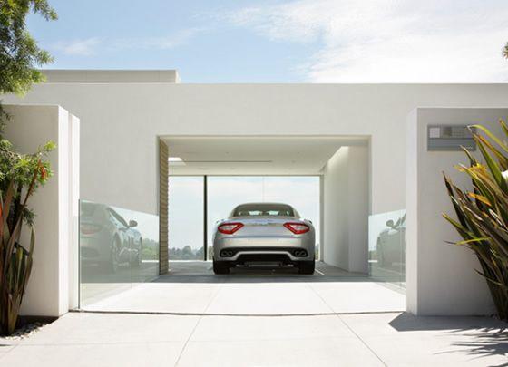 Image gallery modern garages for Modern garage