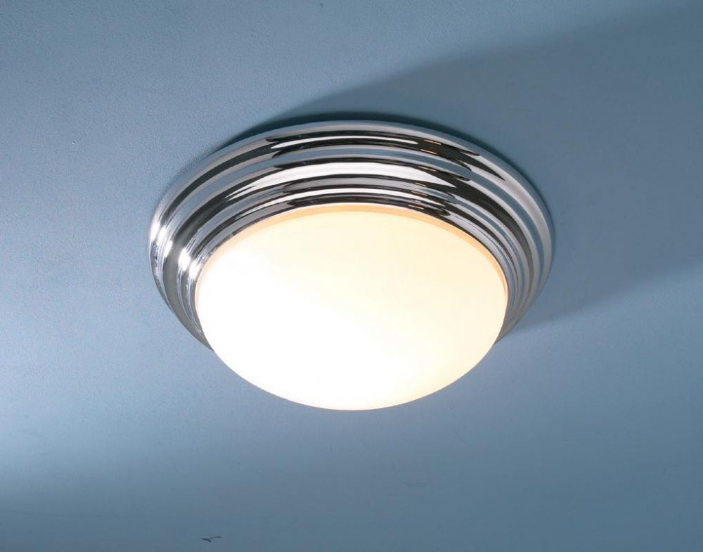 Traditional Bathroom Barclay Flush Fitting Glass Ceiling: The Barclay Is An IP44 Rated Bathroom Chrome Flush Fitting