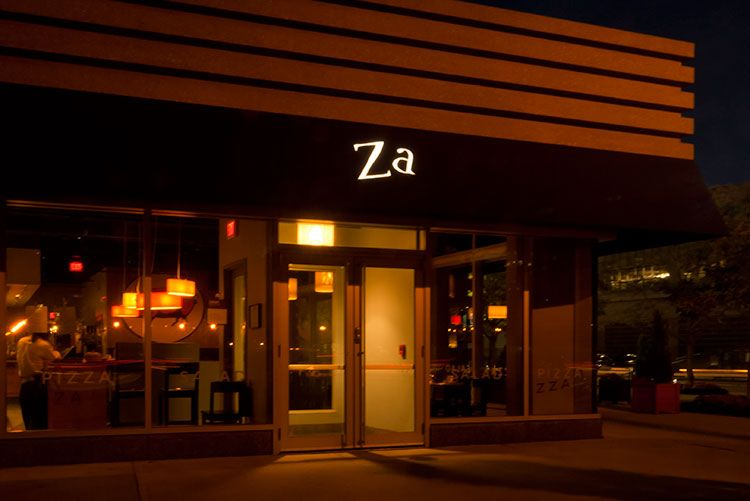 ZA: Inventive, gourmet pizza with locations in Arlington and