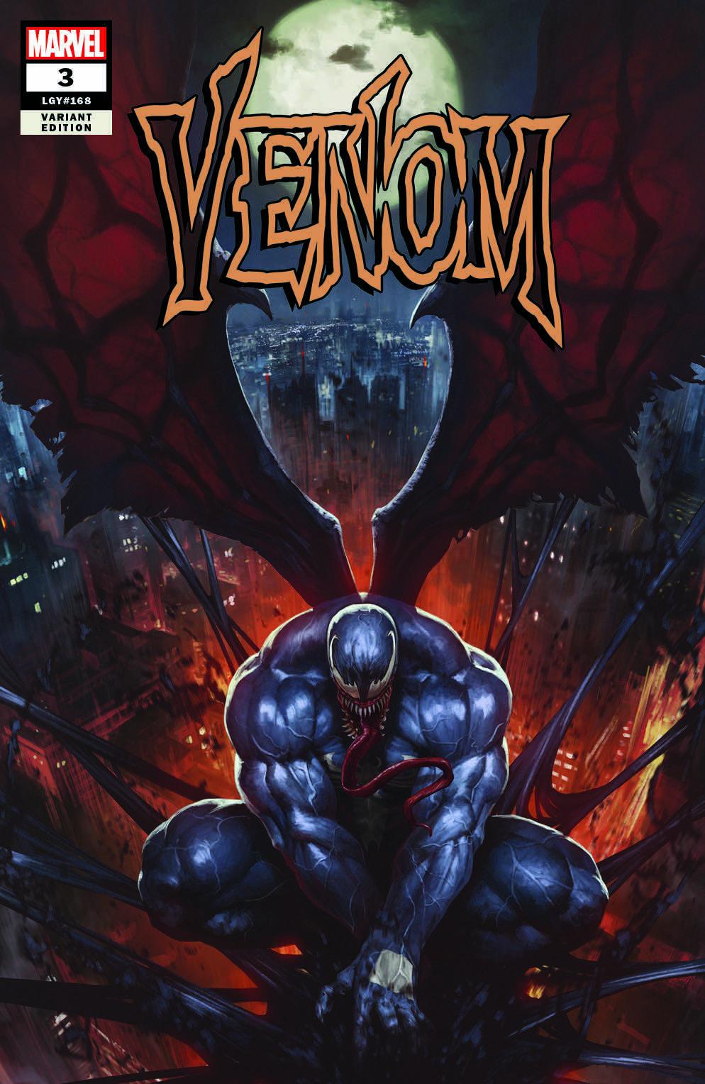 Venom #3 (2018) Exclusive Variant Cover by Skan | art