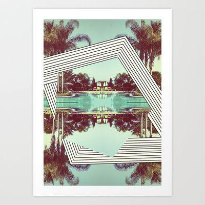 Tropics Trip Art Print by Dawn Gardner - $20.00