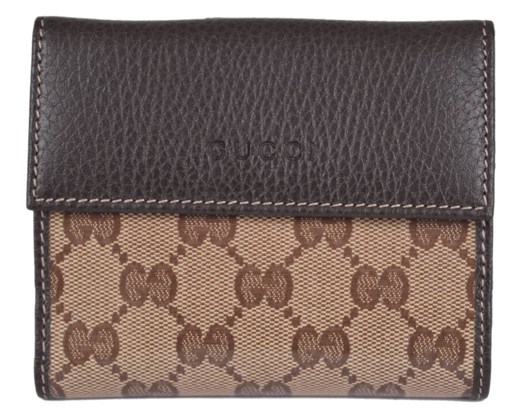 wholesale dealer 45795 2ed54 NEW Gucci Women's 143387 Crystal Canvas GG Guccissima French ...