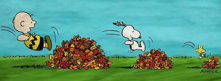 #snoopy #otoño